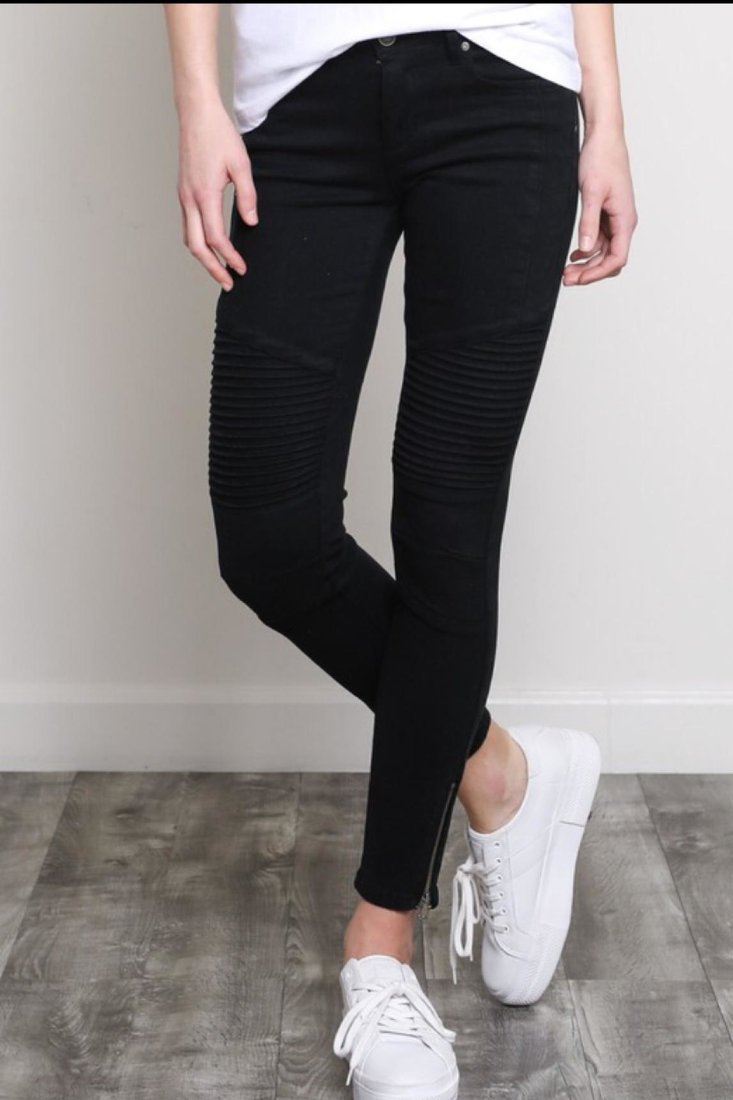 Wishlist Moto Skinnies Black - Main Image
