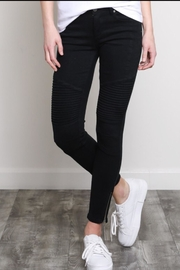 Wishlist Moto Skinnies Black - Front cropped
