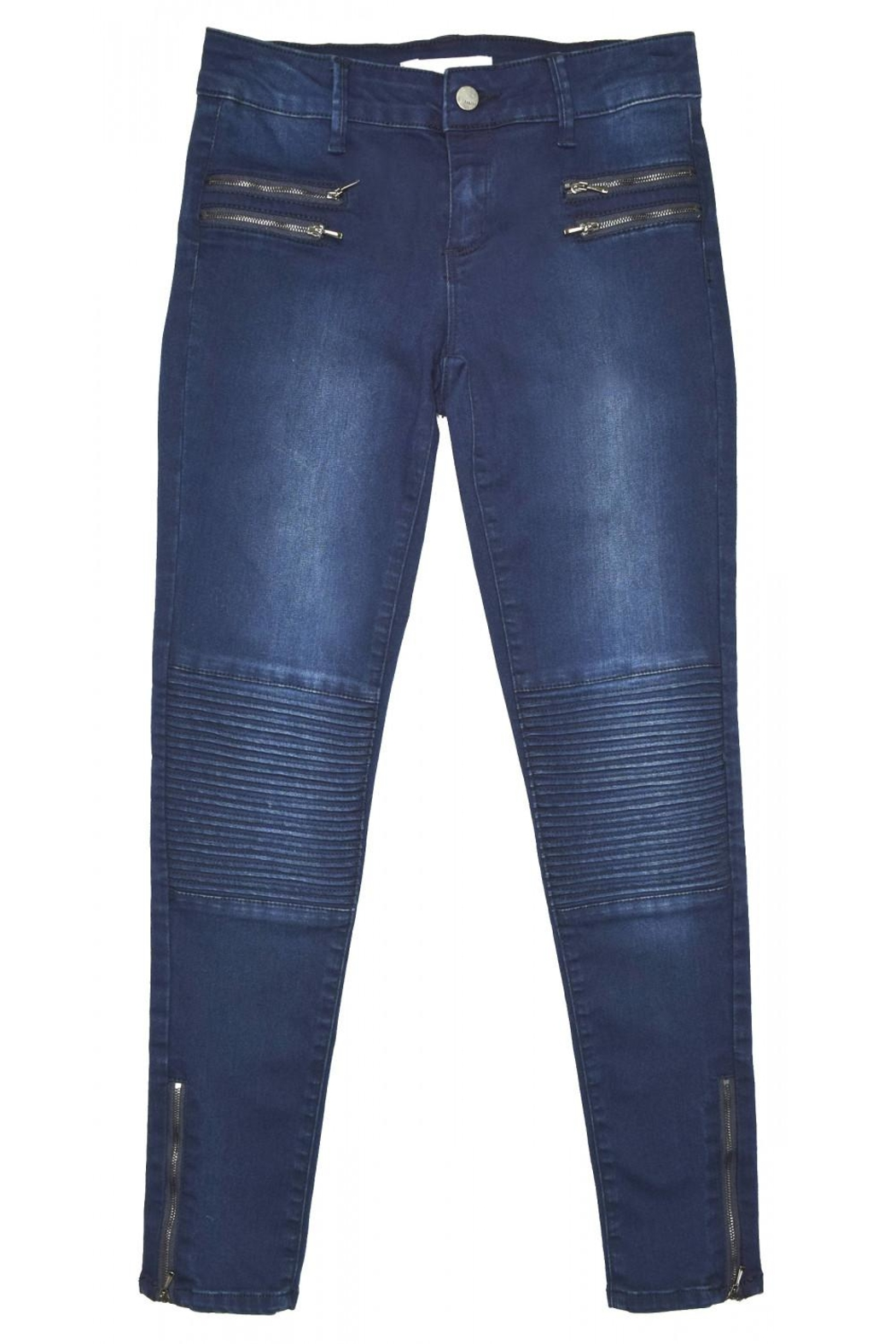 Tractr Moto Skinny Jeans - Main Image