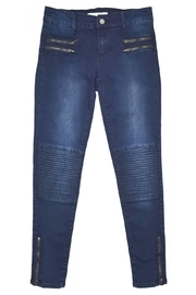Tractr Moto Skinny Jeans - Front cropped