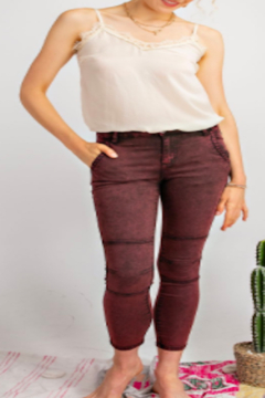 easel  Moto Skinny Jeans - Product List Image