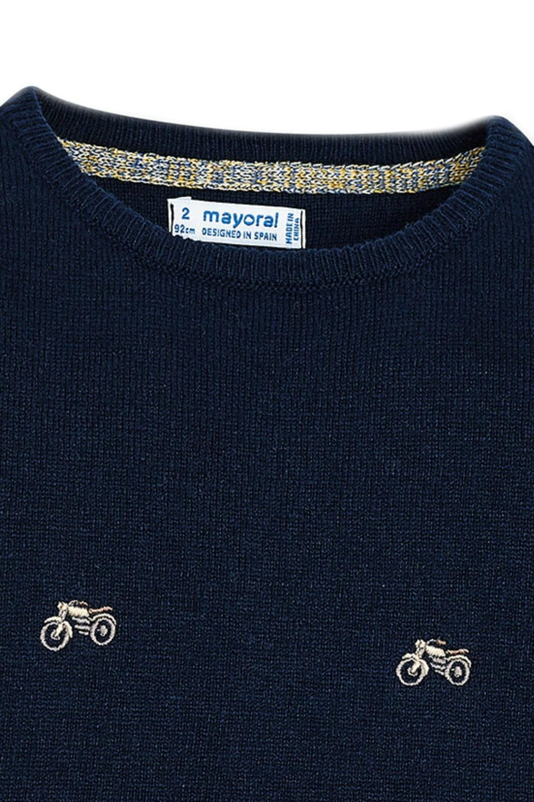 Mayoral Motorcycle Embellished Sweater - Side Cropped Image