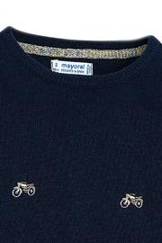 Mayoral Motorcycle Embellished Sweater - Side cropped