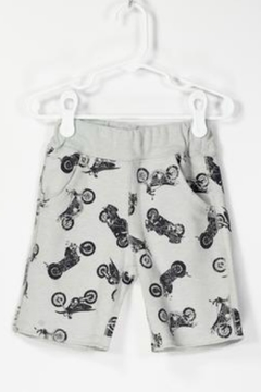 Shoptiques Product: Motorcycle Printed Shorts