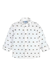Mayoral Motorcycle Theme Button-Down-Shirt - Front cropped