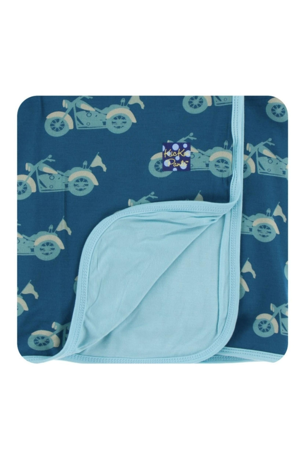 Kickee Pants Motorcycle Toddler-Blanket - Main Image