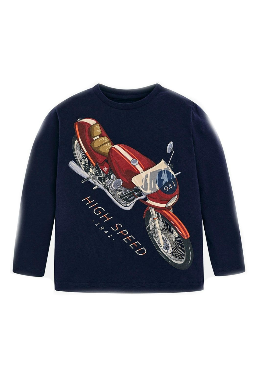 Mayoral Motorcyle Graphic T-Shirt - Main Image