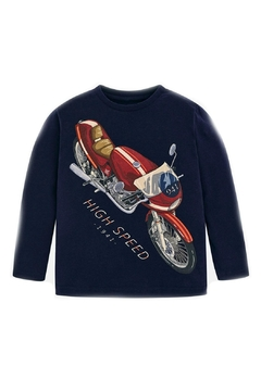 Shoptiques Product: Motorcyle Graphic T-Shirt
