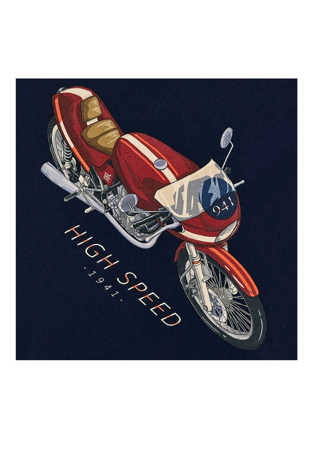 Mayoral Motorcyle Graphic T-Shirt - Front Full Image