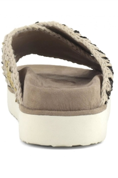 MOU  Criss Cross Bio Sandal Plain Gold - Alternate List Image