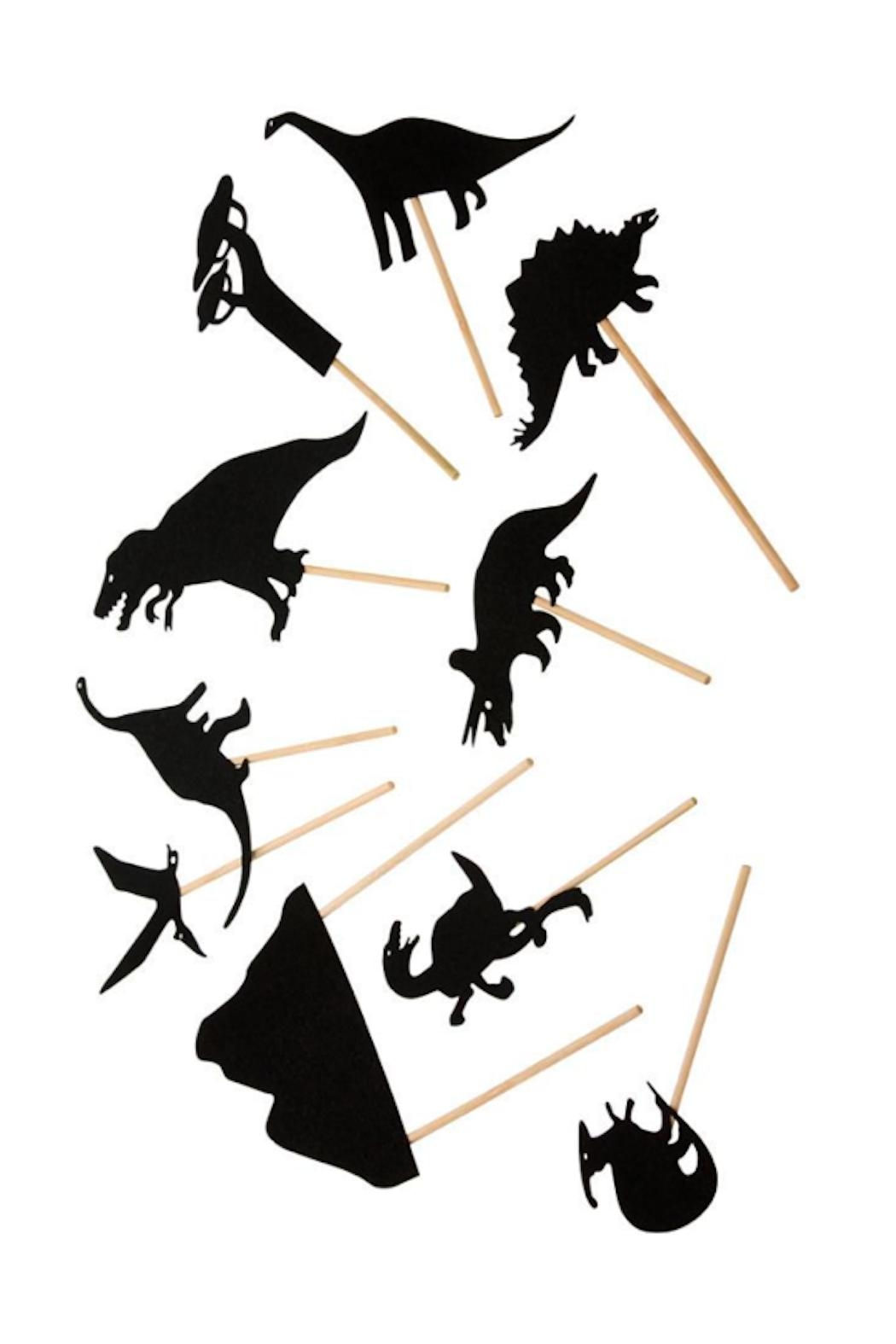 Moulin Roty Dinosaurs Shadow Puppets - Main Image