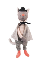 Moulin Roty Gallant Cat Doll - Front cropped