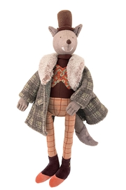 Moulin Roty Gentleman Wolf Doll - Product Mini Image
