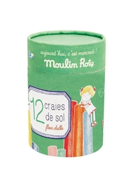 Moulin Roty Jumbo Sidewalk Chalk - Product Mini Image