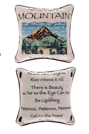 MWW MOUNTAIN ADVICE PILLOW - Product Mini Image