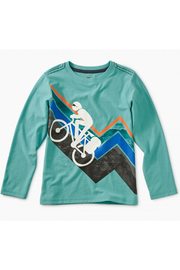 Tea Collection Mountain Biker Graphic Tee - Front cropped