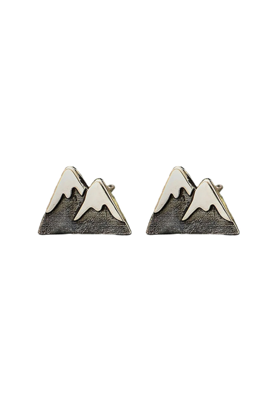 Bronwen Mountain Girl Post Earrings - Front Cropped Image
