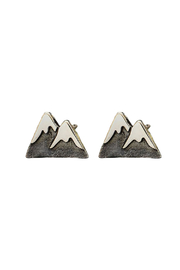 Bronwen Mountain Girl Post Earrings - Front cropped