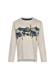 Minymo Mountain Landscape Shirt - Front cropped