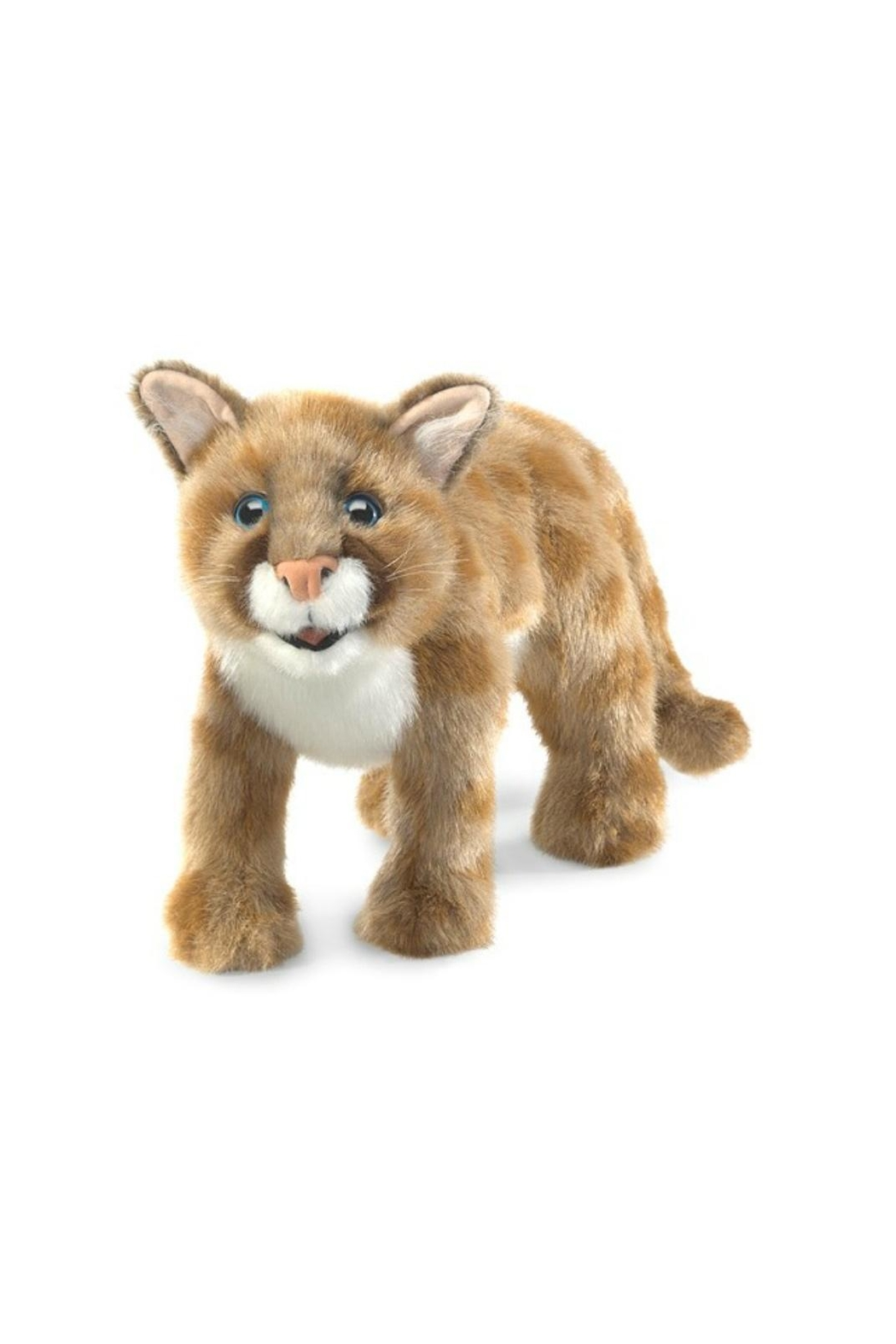 Folkmanis Mountain Lion Cub - Front Cropped Image