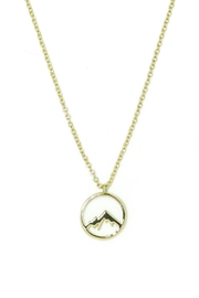 Pura Vida Mountain Pendant Necklace - Product Mini Image