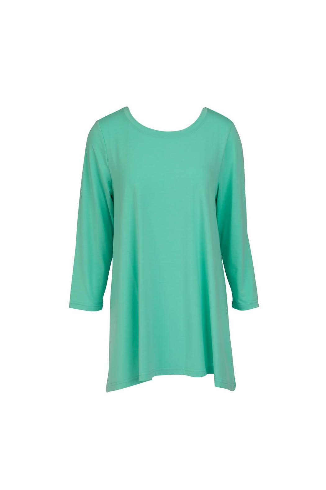 Mountain Mamas Mint Essential Tunic - Front Full Image
