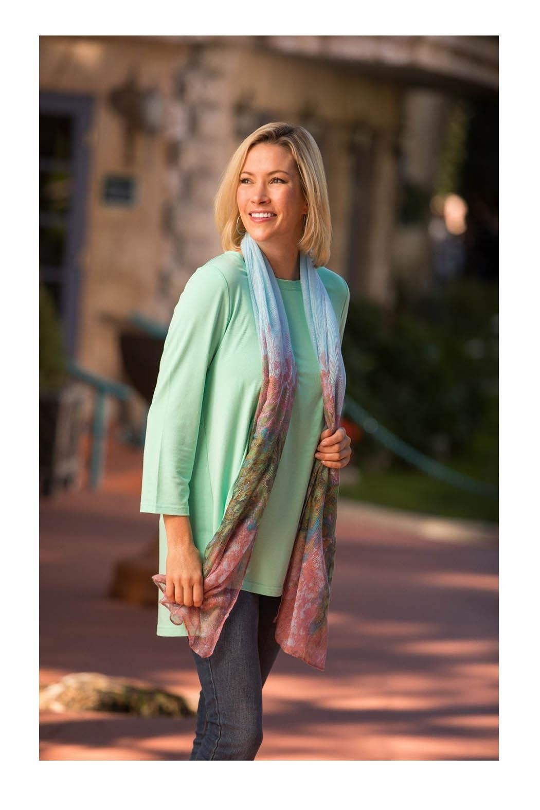 Mountain Mamas Mint Essential Tunic - Main Image