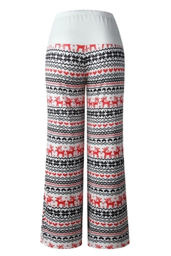 Mountain Valley Christmas Print Pants - Alternate List Image