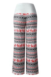 Mountain Valley Christmas Print Pants - Front full body