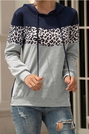 Mountain Valley Leopard Print Hoodie - Product Mini Image