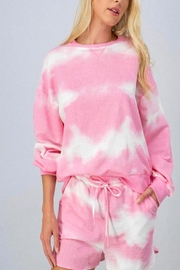 Mountain Valley Pink Tiedye Set - Front cropped