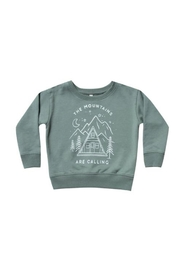 Rylee & Cru Mountains Are Calling Sweatshirt - Product Mini Image