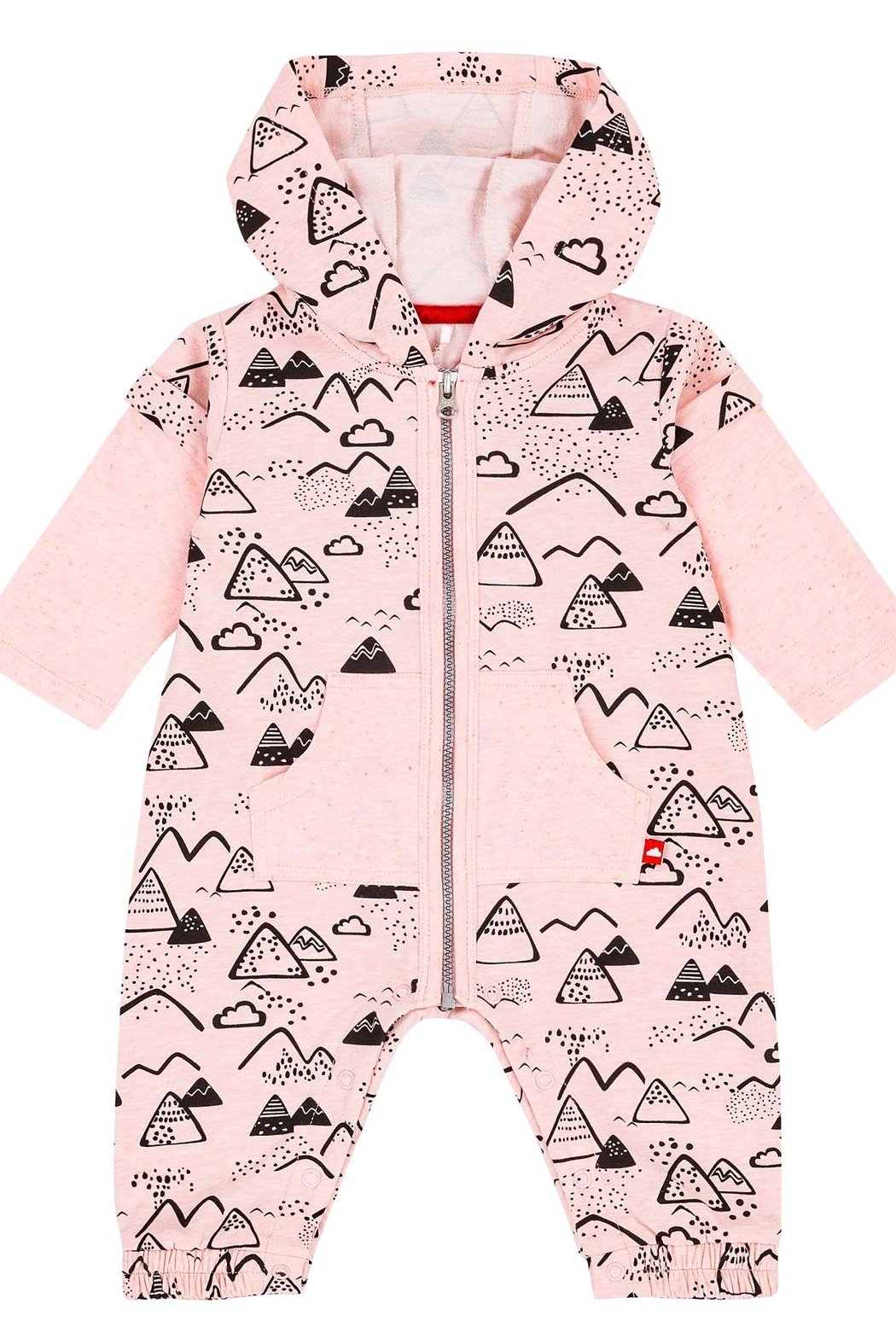 Deux Par Deux Mountains Pink Jumpsuit - Main Image