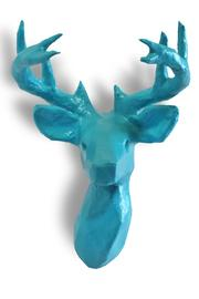 Mounted Paper Faux Deer Head - Product Mini Image
