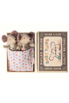 Maileg Mouse Baby Twins in Box - Alternate List Image