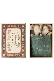 Maileg Mouse Baby Twins in Box - Product Mini Image
