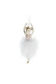 Abbott Collection Mouse Ballerina Ornament - Product Mini Image