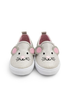 JoJo Maman Bebe Mouse Canvas Shoe - Alternate List Image