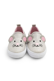 JoJo Maman Bebe Mouse Canvas Shoe - Front full body
