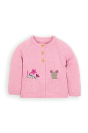 JoJo Maman Bebe Mouse Cardigan - Product Mini Image
