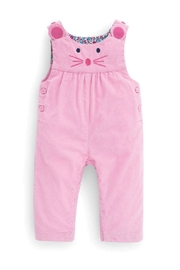 JoJo Maman Bebe Mouse Cord Overalls - Front cropped