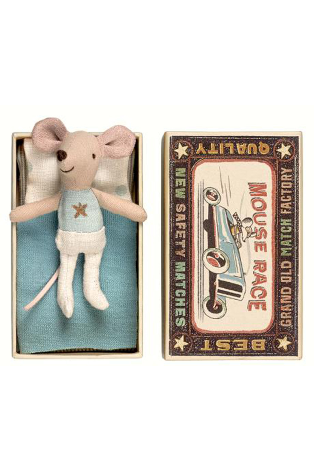 Maileg Mouse Little Brother in Box - Main Image