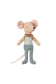 Maileg Mouse Little Brother in Box - Front full body