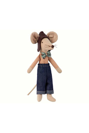 Maileg Mouse Racer Dad - Product Mini Image
