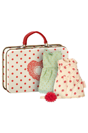 Maileg Mouse, Suitcase With 2 Sets Of Clothes - Product Mini Image