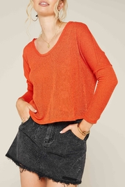 Sadie & Sage Move Over Crop Top - Front cropped
