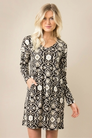 Simply Noelle Moving-Motif Pocket Dress - Product Mini Image