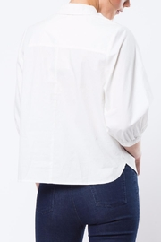 Movint White Kelly Top - Front full body
