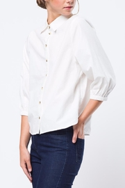 Movint White Kelly Top - Side cropped