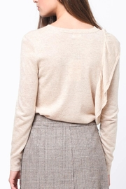 Movint Asymmetrical Ruffle Sweater - Side cropped